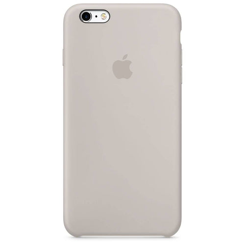 Coque silicone iPhone 6 Blanc rock
