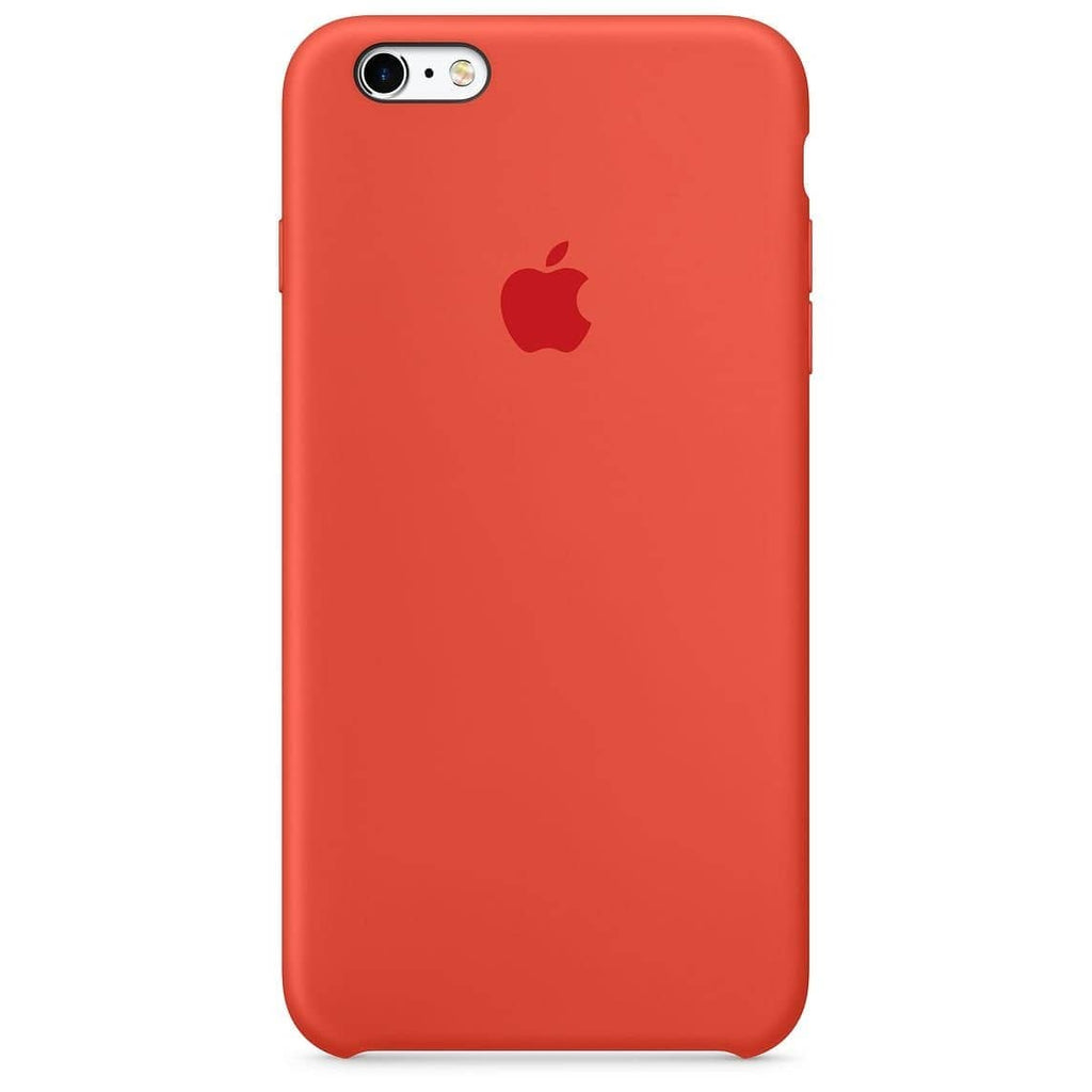 Coque silicone iPhone 6 Orange