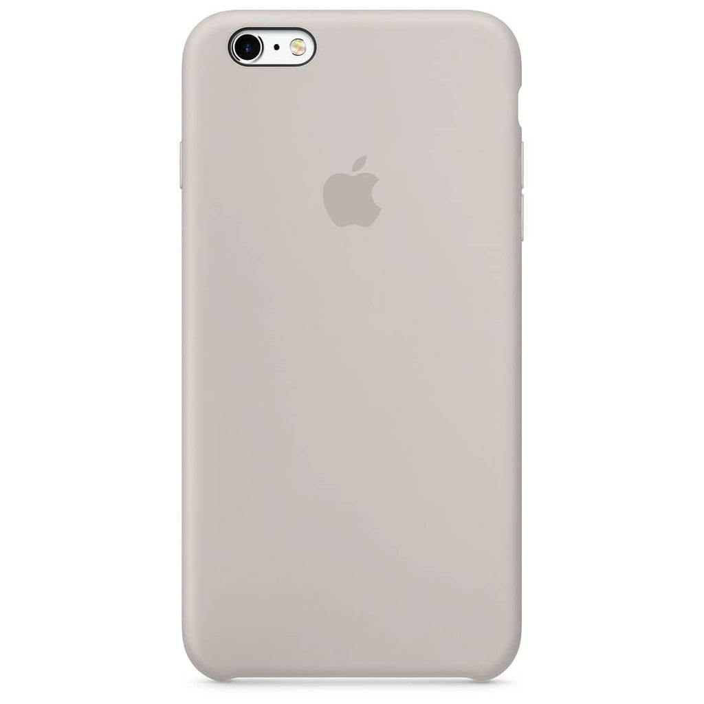 Coque silicone iPhone 6S Plus Blanc rock