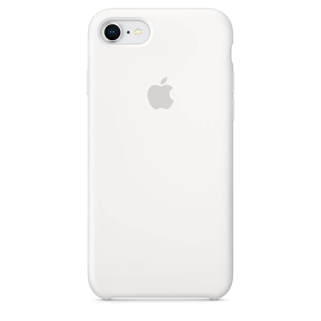 Coque silicone iPhone 7 Blanc