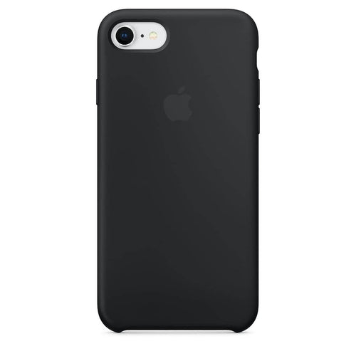 Coque silicone iPhone 7 Plus Noir