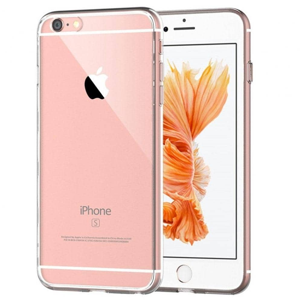 Coque silicone iPhone 8 Plus Transparente