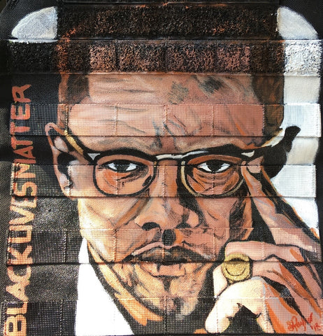 Malcolm X- Close Up Complete