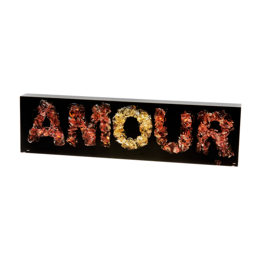 Word Amour by Richard Woleck & Jean-François Bollié 99ex