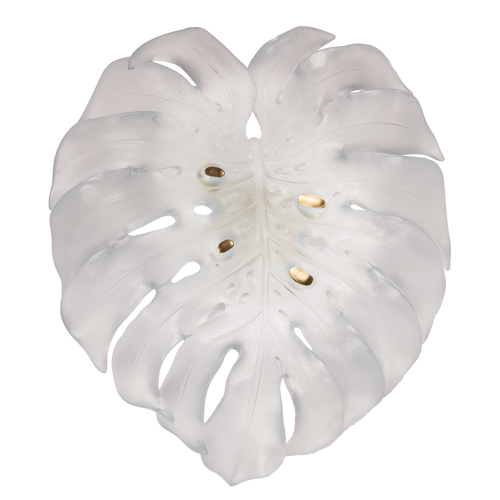 Monstera Large Wall Lamp in White by Emilio Robba