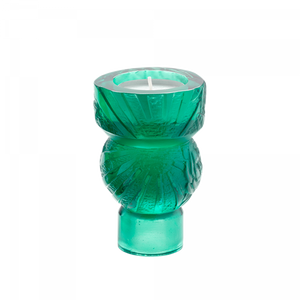 Green Candle Holder Empreinte