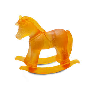 Rocking Horse in Amber