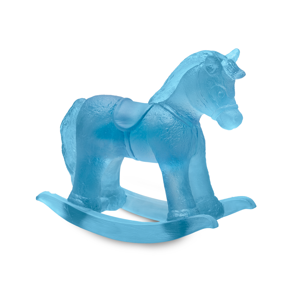 Rocking Horse in Blue