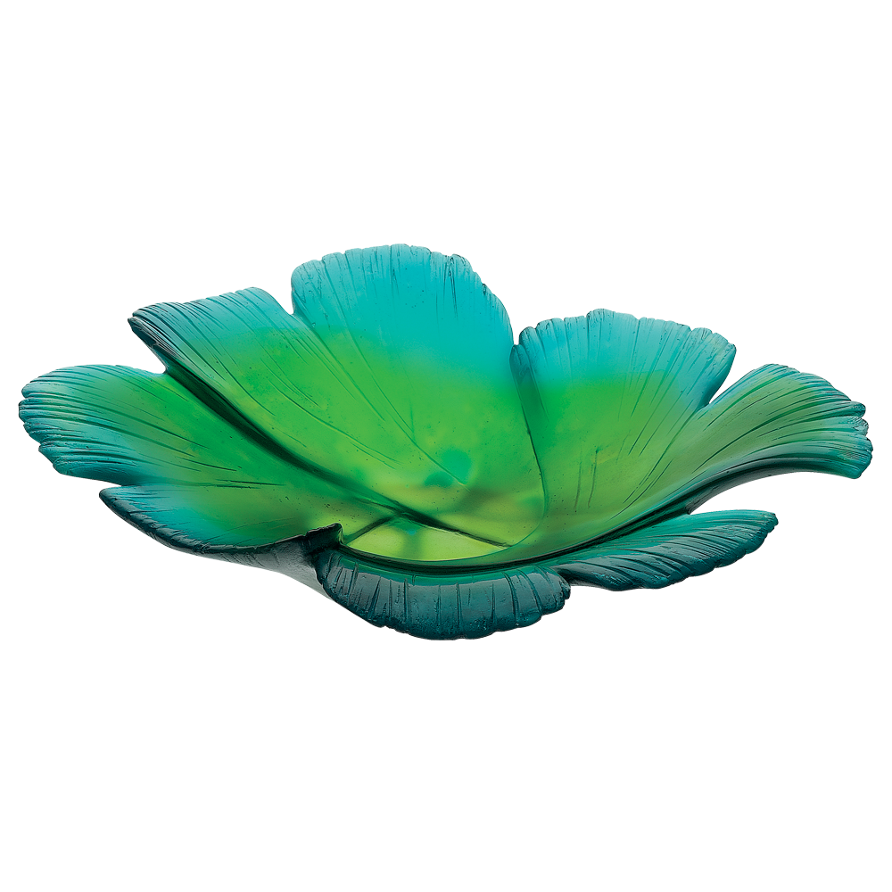 Magnum Ginkgo Bowl in Green