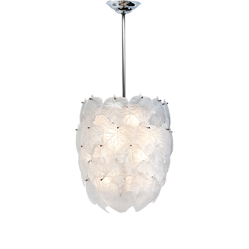 White Eden chandelier by Martyn Lawrence Bullard