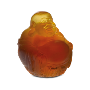Amber Little Happy Buddha