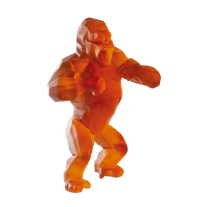 Wild orange Kong by Richard Orlinski 99 ex