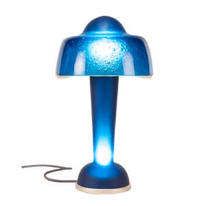 Résonance Lamp in Ink Blue