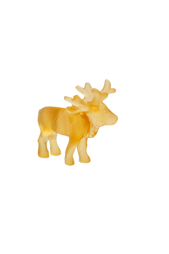 Mini Reindeer in Light Amber