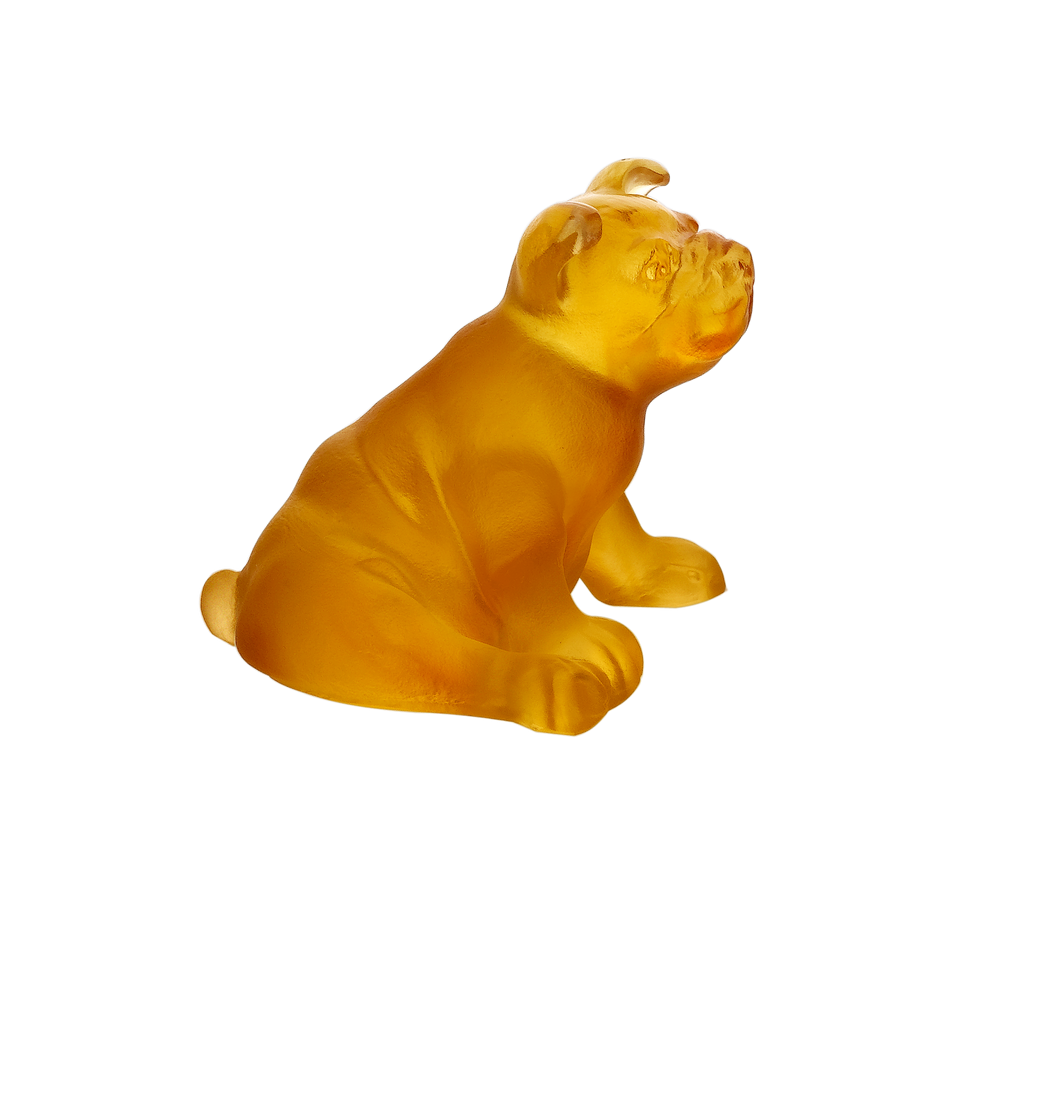 Mini Puppy in Amber