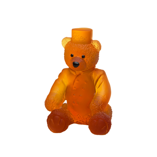 Small Ritz Paris Teddy Bear in Amber