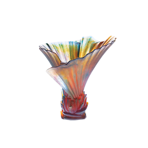 Small Palm Tree Vase by Emilio Robba