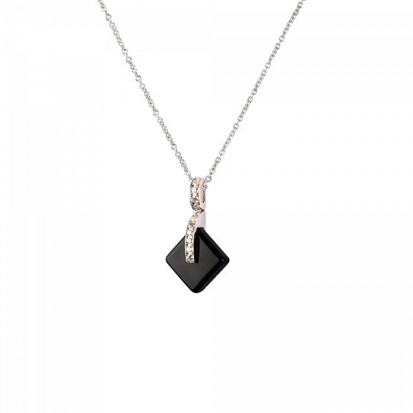 Black Simple crystal Penda Eclipse