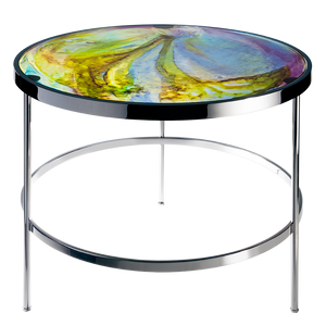 Imprevisible Side Table in Blue, Green, & Purple