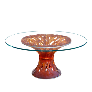 Vegetal Table in Amber
