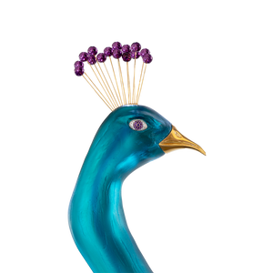 Tropical Peacock by Madeleine van der Knoop