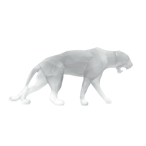 Wild Panther in White by Richard Orlinski 99 ex