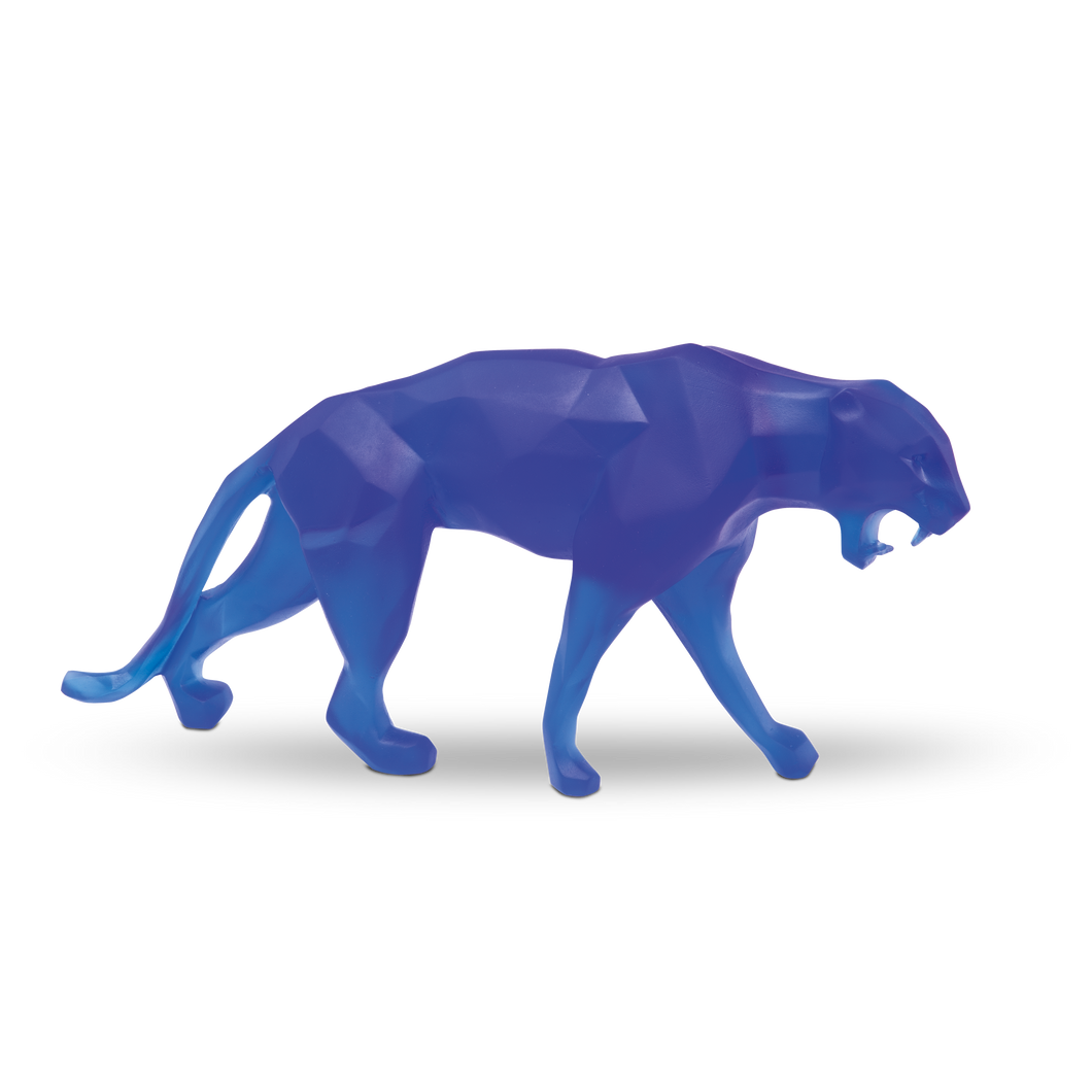 Wild Panther in Blue by Richard Orlinski 99 ex