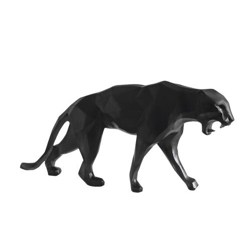 Wild Panther in Black by Richard Orlinski 99 ex