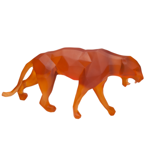Wild Panther in Orange by Richard Orlinski 99 ex