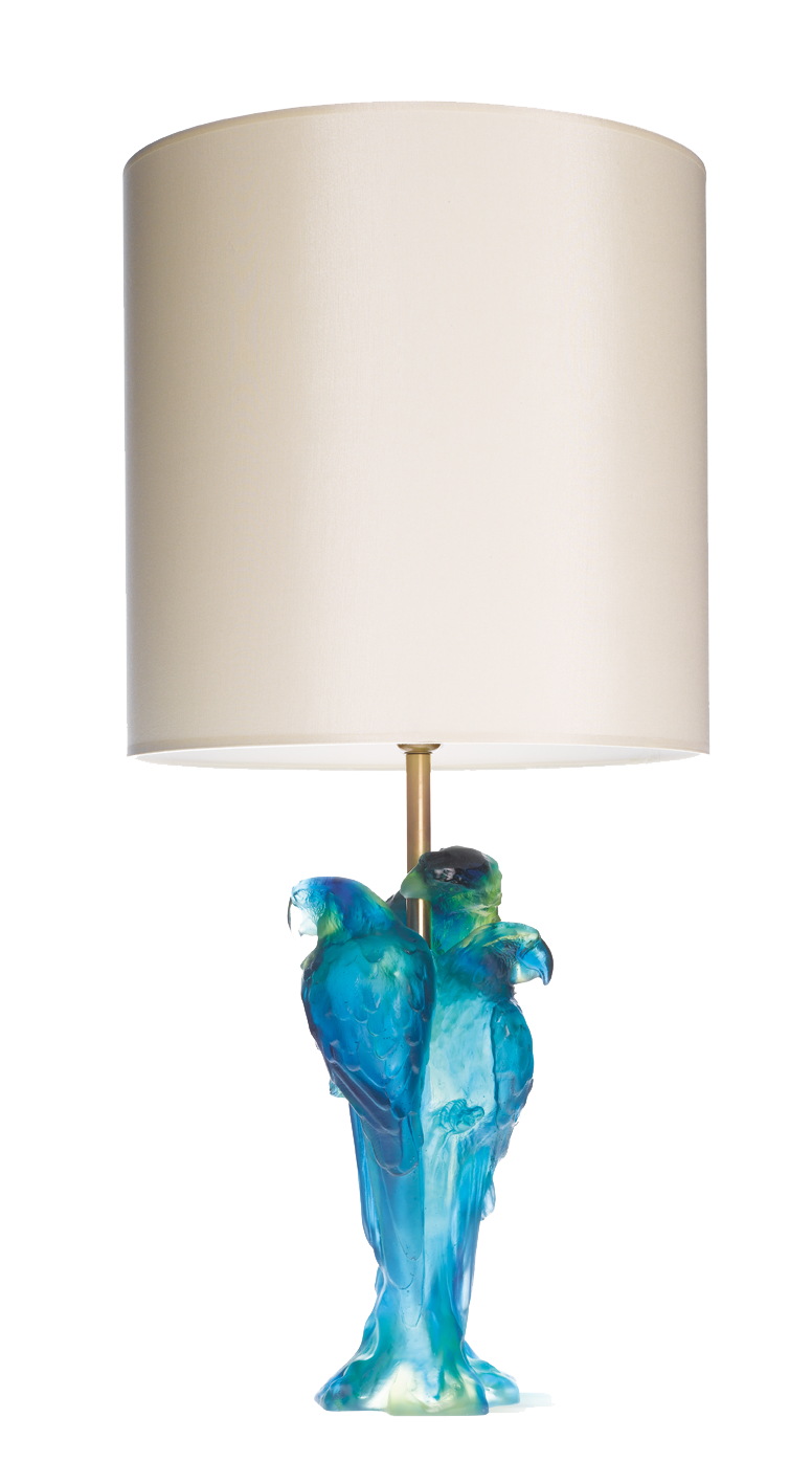Macaw Lamp by Jean-François Leroy
