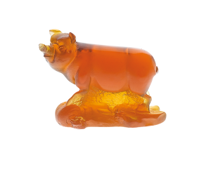 Pig Chinese Horoscope in Amber