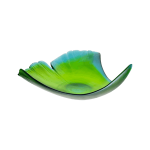 Ginkgo Large Leaf Bowl in Green