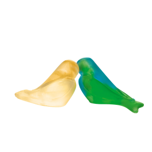 Love Birds in Green & Yellow by Pierre-Yves Rochon