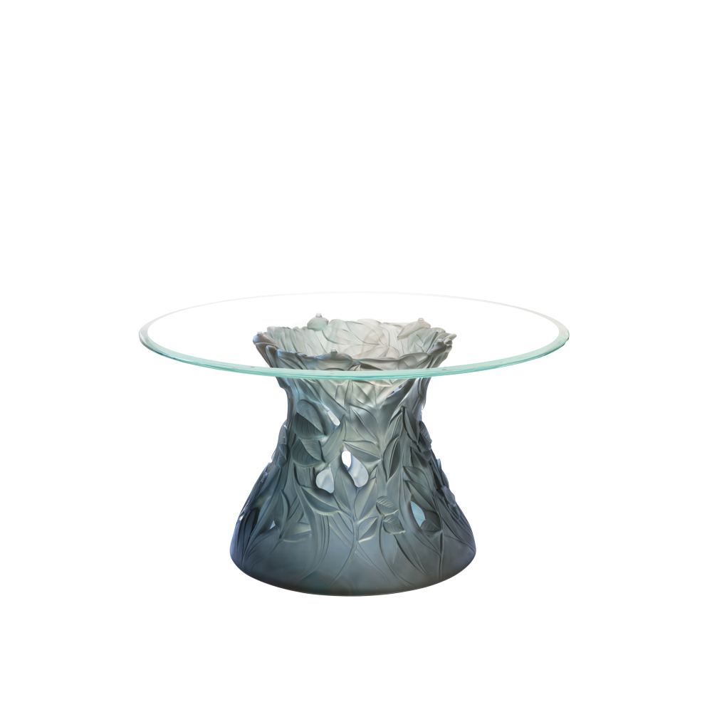 Vegetal Coffee Table in Blue-Grey