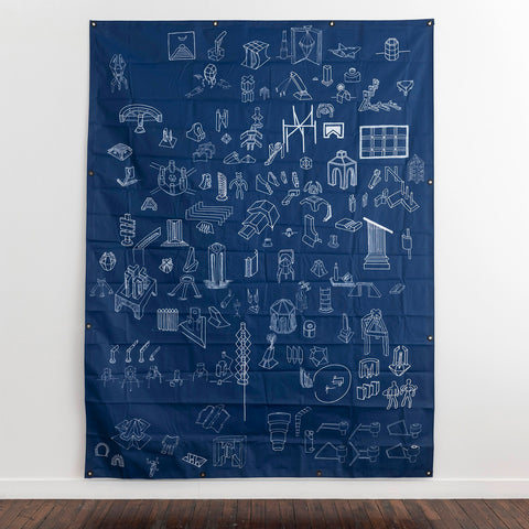 Blueprint Tarp