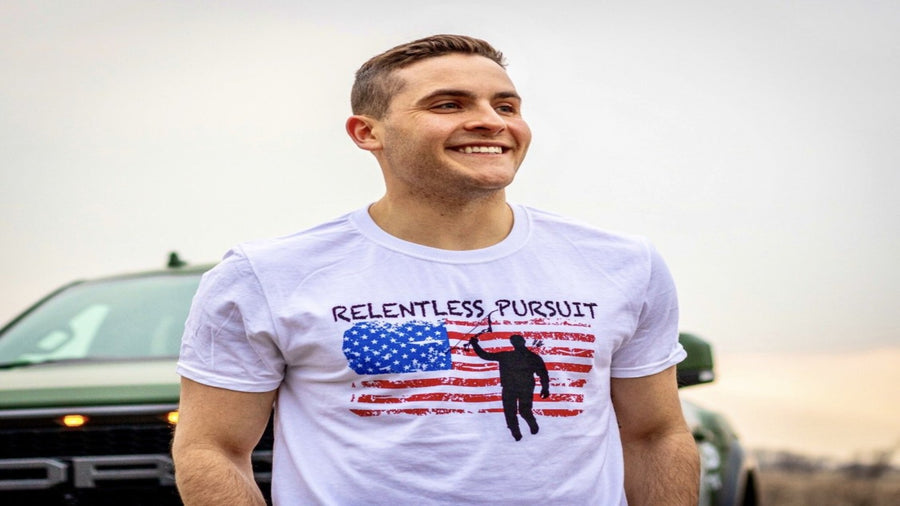 America Relentless Pursuit T-shirt