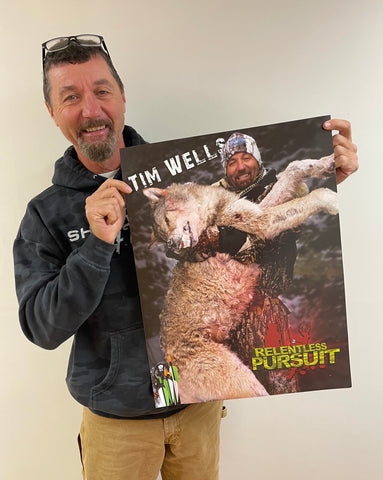 Custom Signed Tim Wells Poster