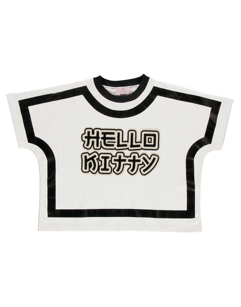 JimmyPaul x Hello Kitty - White Graphic Top