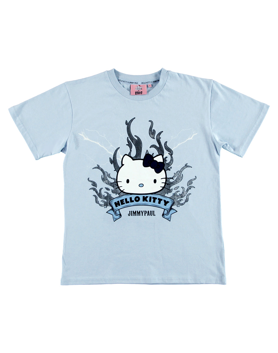 JimmyPaul x Hello Kitty - Blue Hello Kitty Friends on Tour Top