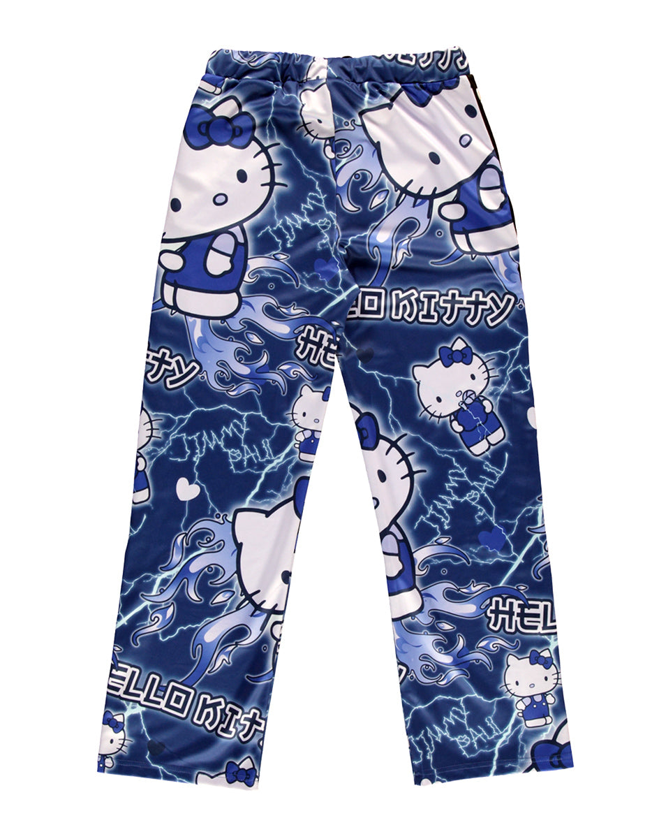 JimmyPaul x Hello Kitty - Blue Designer Print Pant