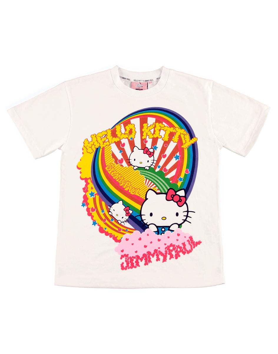 JimmyPaul x Hello Kitty - White Colourful Print Top