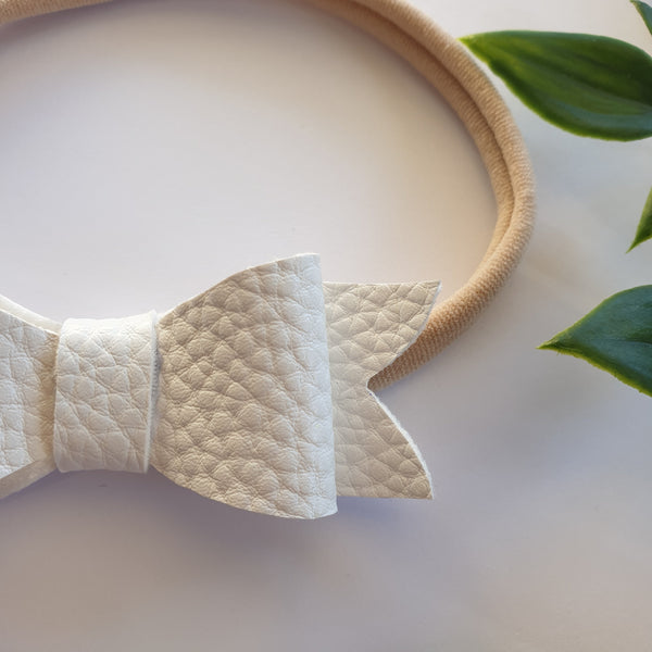 Sweetheart Headband - White