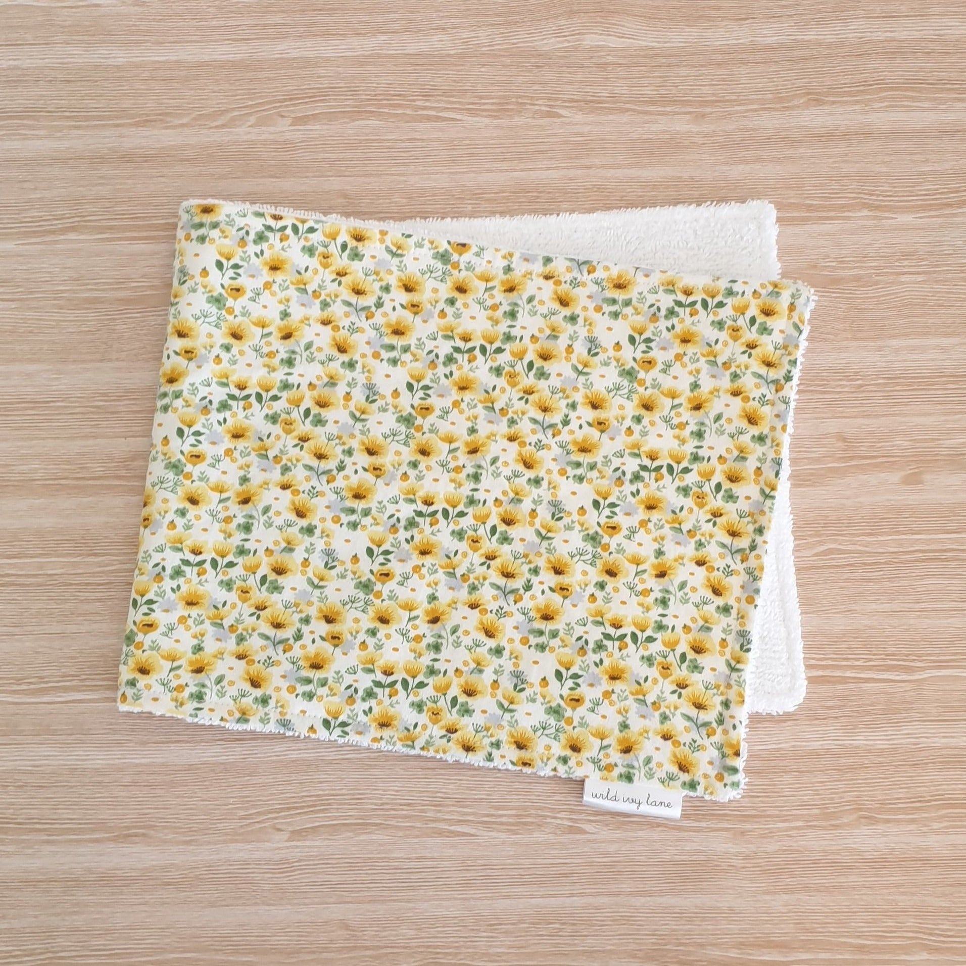 Burp Cloth - Goldie