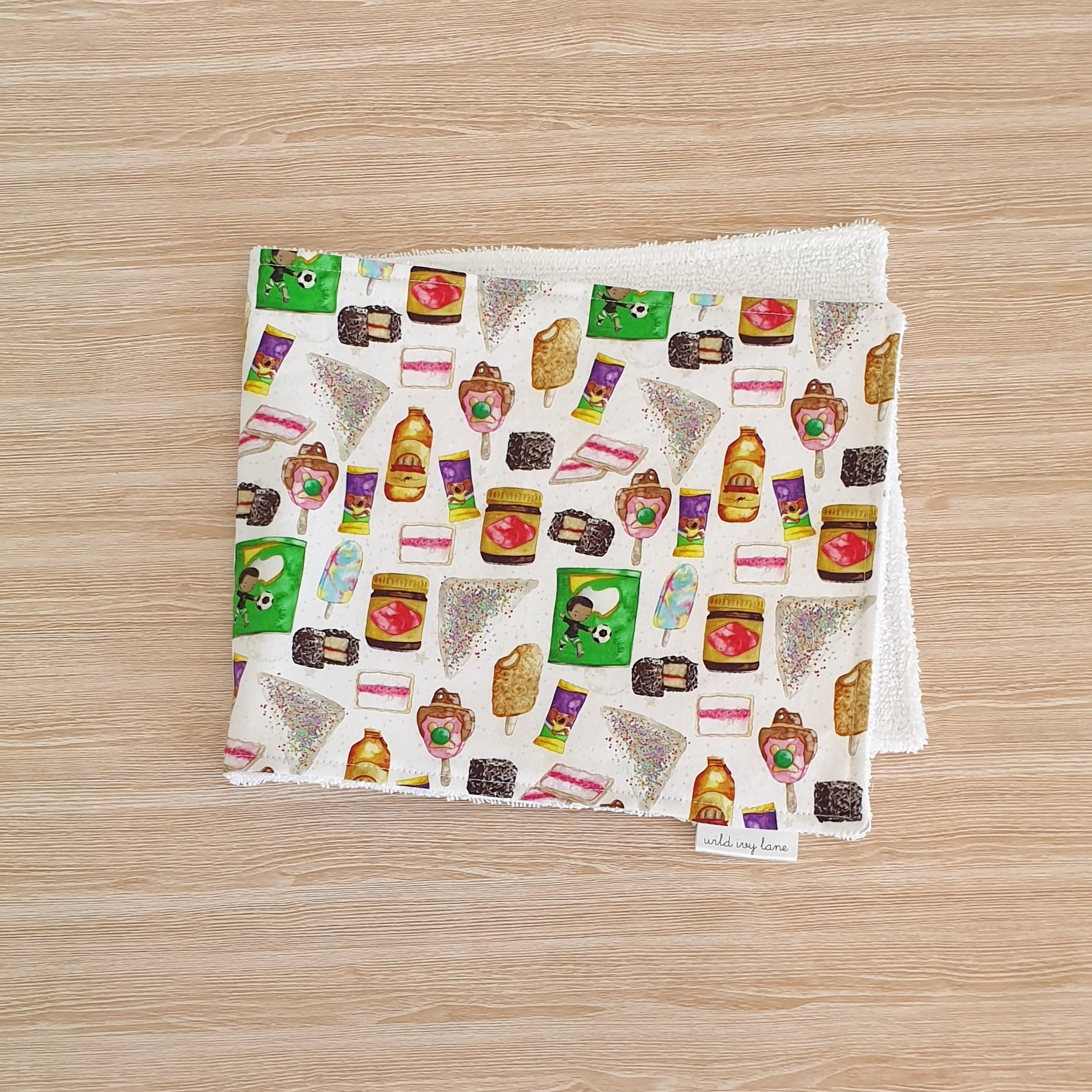 Burp Cloth - Aussie Favourites