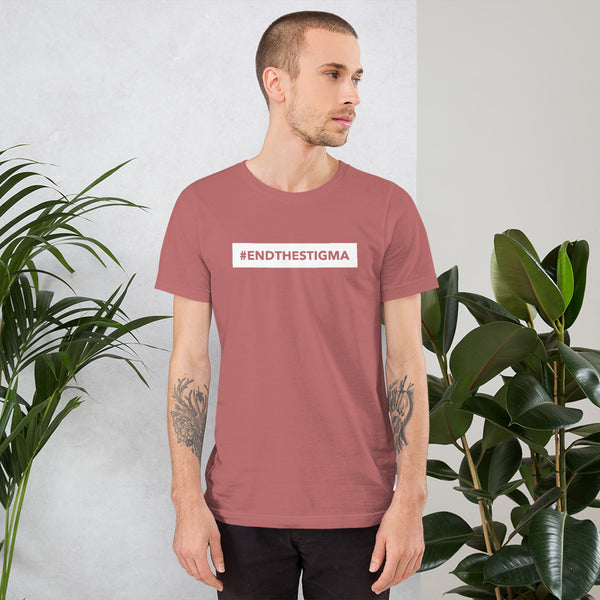 End The Stigma - Short-Sleeve Unisex T-Shirt