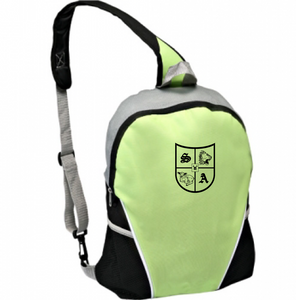 Cross-Body Backpack with Shock 'n Awe Shield Logo