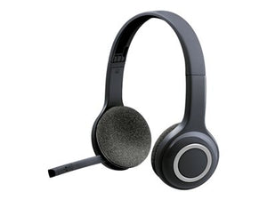 Logitech H600 - Headset - on-ear - 2.4 GHz - wireless