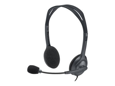 Logitech Stereo H111 - Headset - on-ear - wired