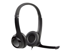 Logitech USB Headset H390 - Headset - on-ear - wired - USB