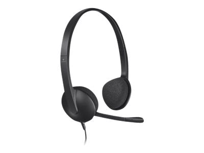 Logitech USB Headset H340 - Headset - on-ear - wired - USB